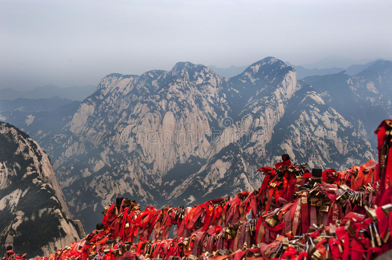 China: mountain hua royalty free stock images