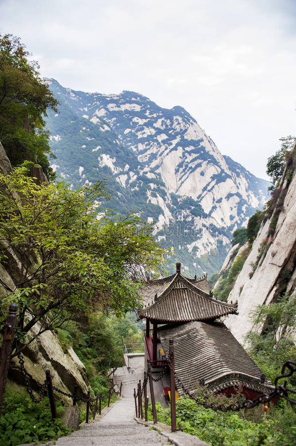 China:mountain hua stock photo