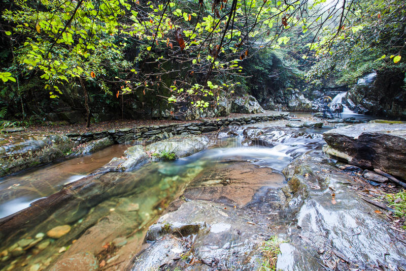 China,The mountain streams royalty free stock photography