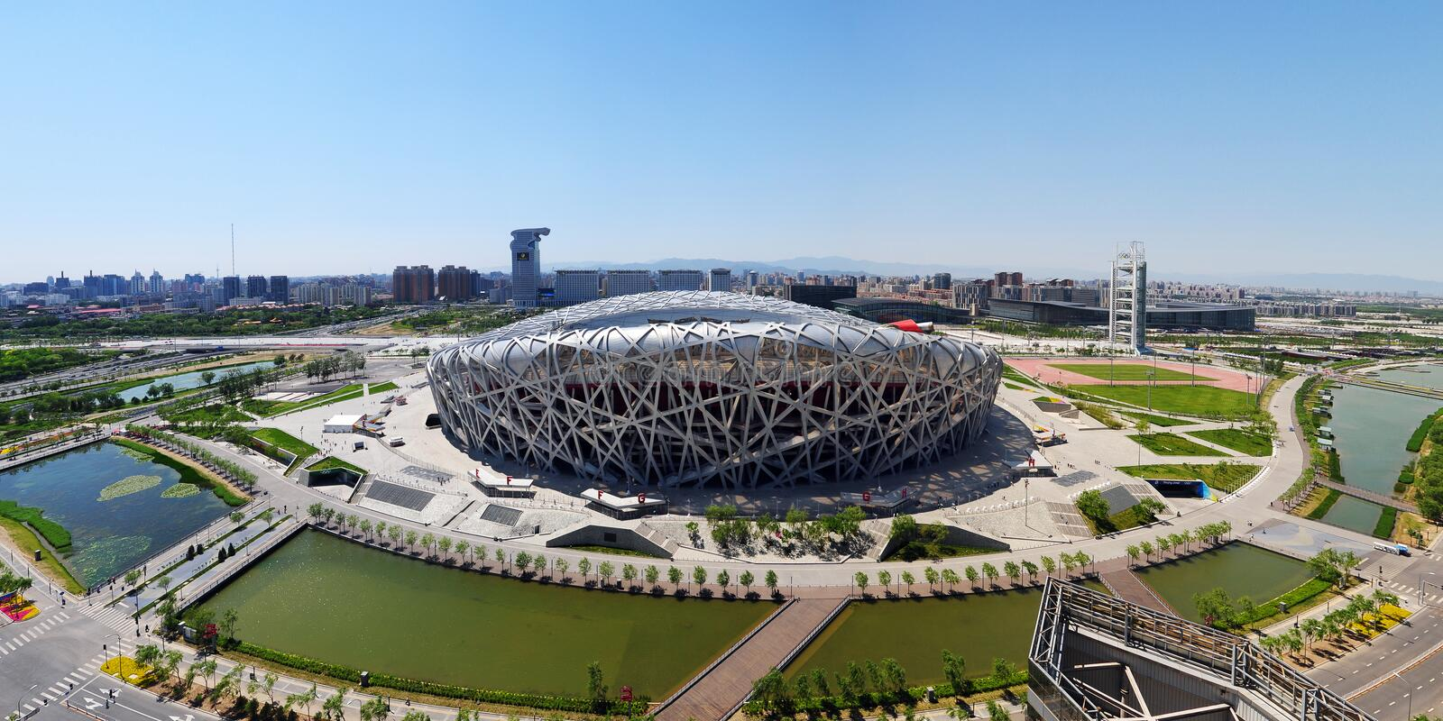 Download China National Olympic Stadium Editorial Photography - Image of landscape, centre: 10252017