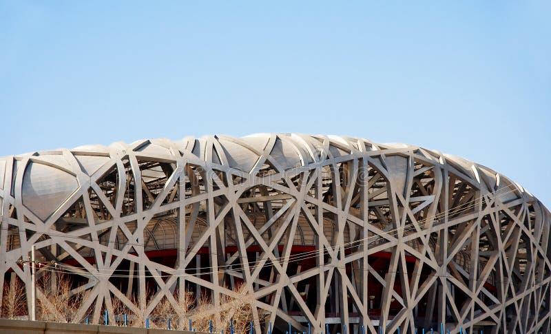China national stadium stock photo