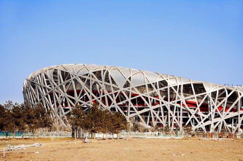 China national stadium stock images