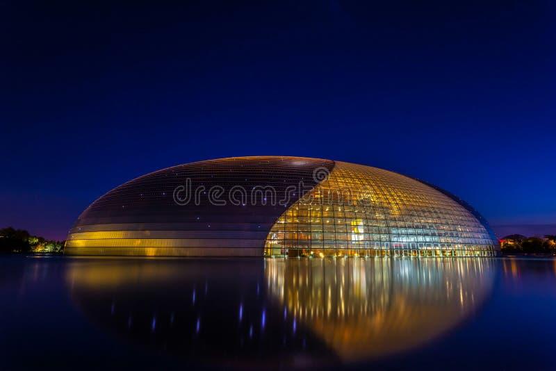 China-nationale Mitte für die Performing Arten stockfotos