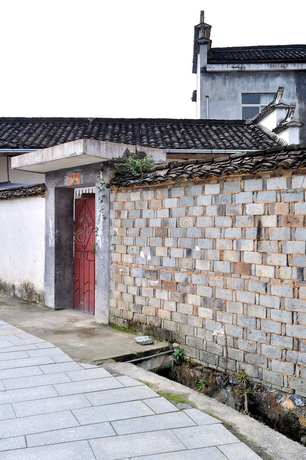 China old house stock photos