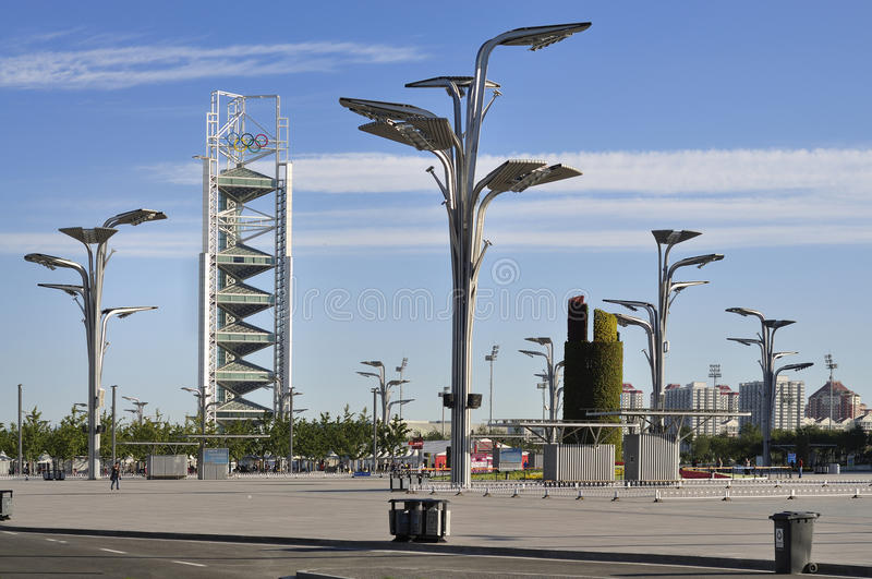 Download China Olympic Park TV Tower In Beijing Editorial Image - Image: 19347155