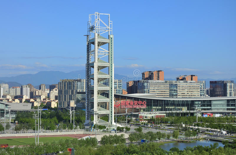 Download China Olympic Park Tv Tower In Beijing Editorial Image - Image: 19604785