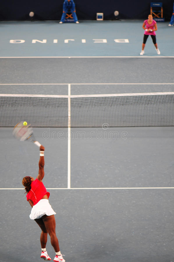 Download China Open 2009 Tennis Tournament Editorial Stock Photo - Image of women, play: 11258348