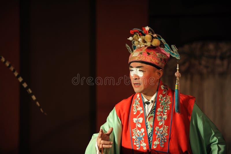 China opera clown. China opera actor,show clown royalty free stock photo