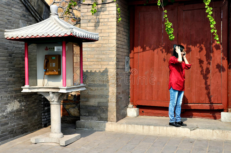 China - palácio de verão imagem de stock