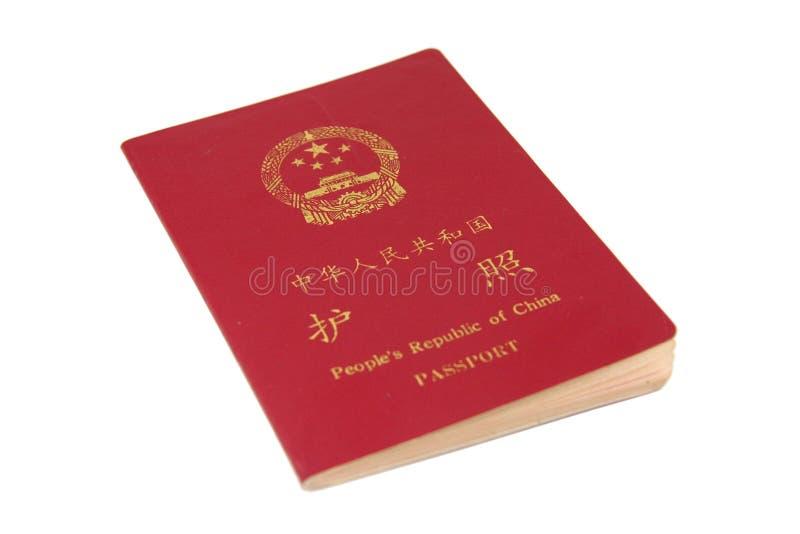 China passport stock photo