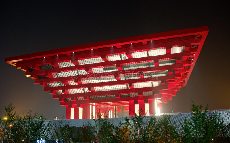 China-Pavillion lizenzfreie stockfotografie