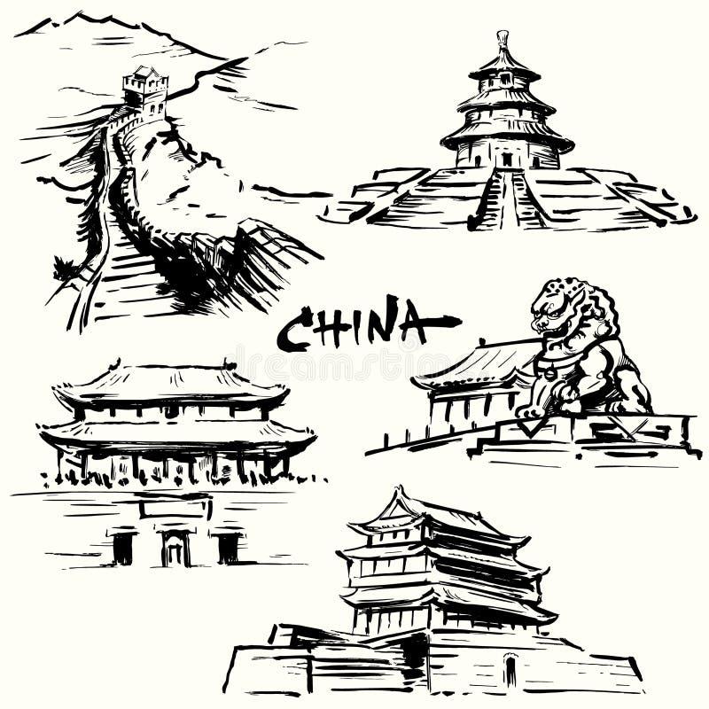 China, Pekín - herencia china libre illustration