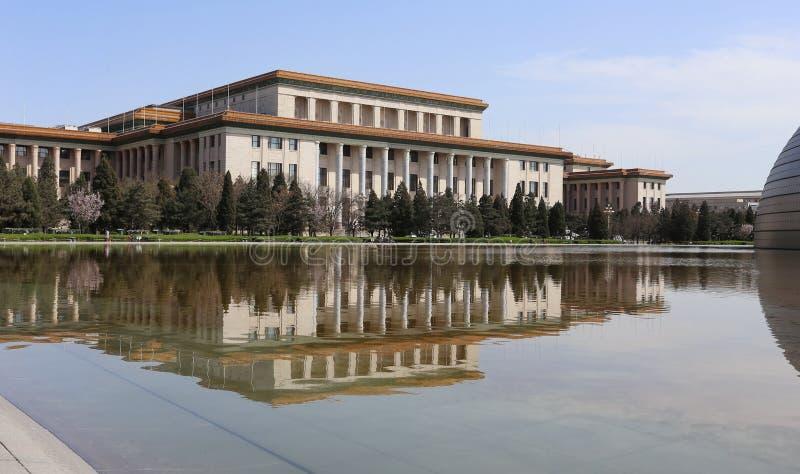 China Peking de Grote Zaal van de Mensen royalty-vrije stock foto