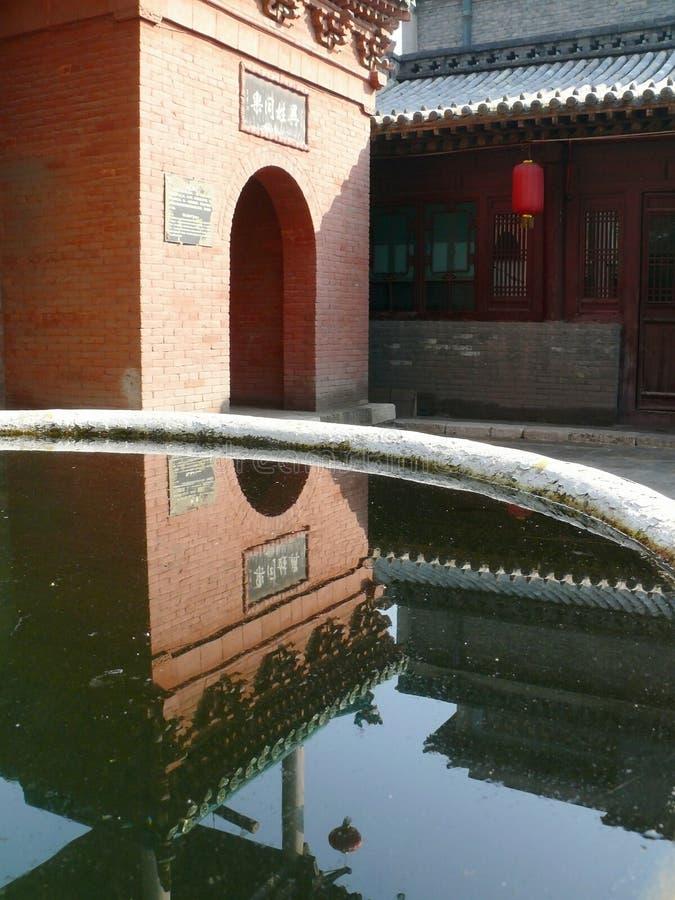 China Pingyao Temple stock image