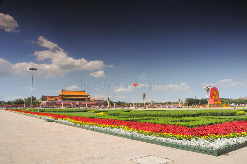China is preparing for the 90th on Tiananmen
