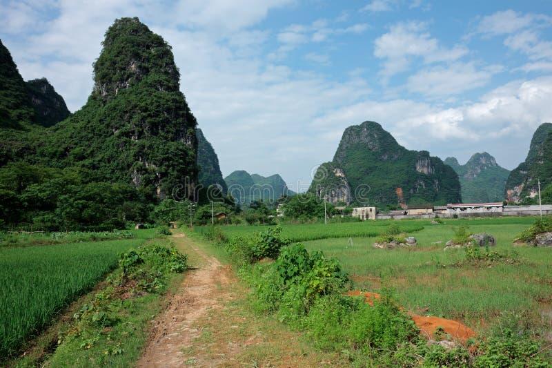 China rural fotografia de stock royalty free