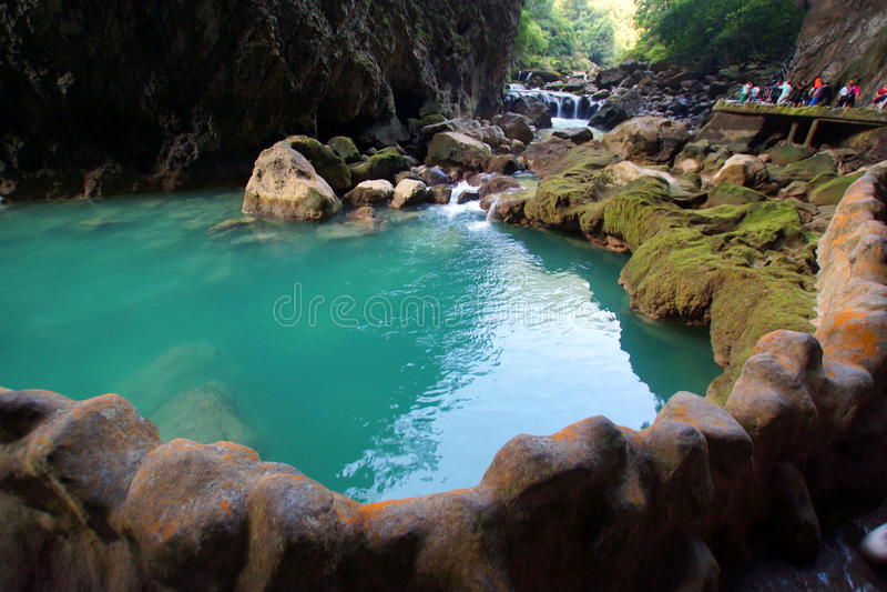 China's guizhou province seven major scenic spots royalty free stock photo