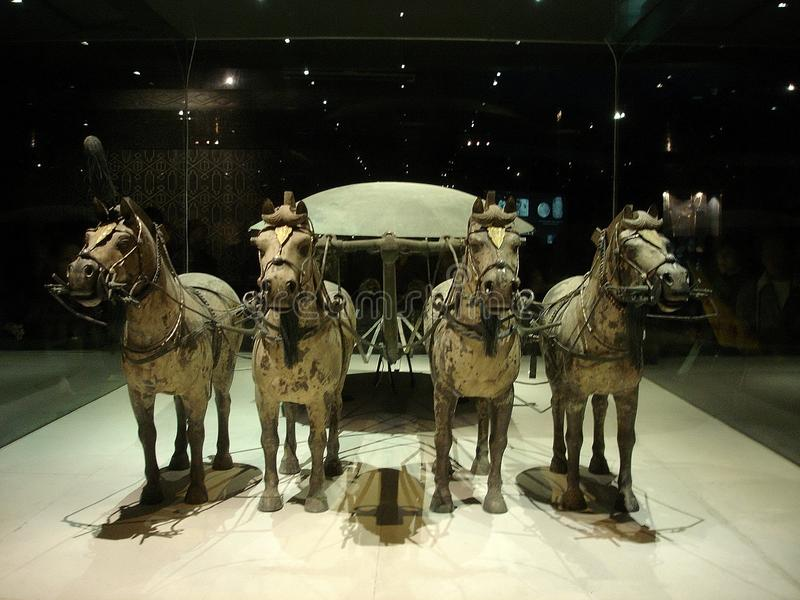 China s terracotta warriors and horses unearthed r