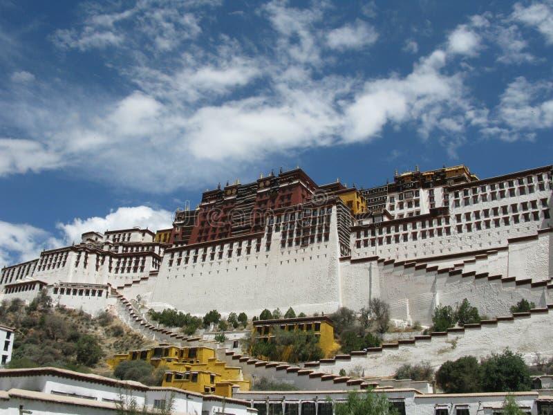 China's Tibet potala palace stock photography