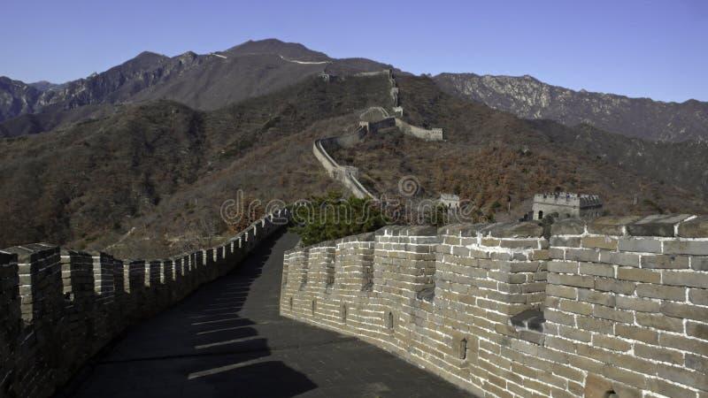 China?s Wand lizenzfreie stockfotografie