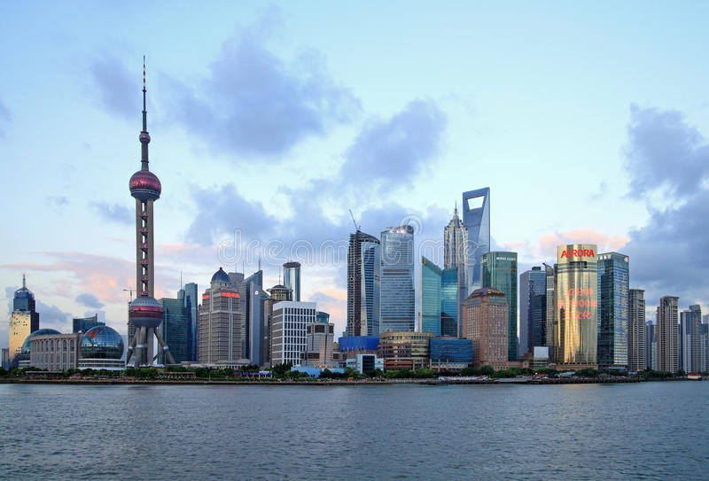 China shanghai imagem de stock royalty free