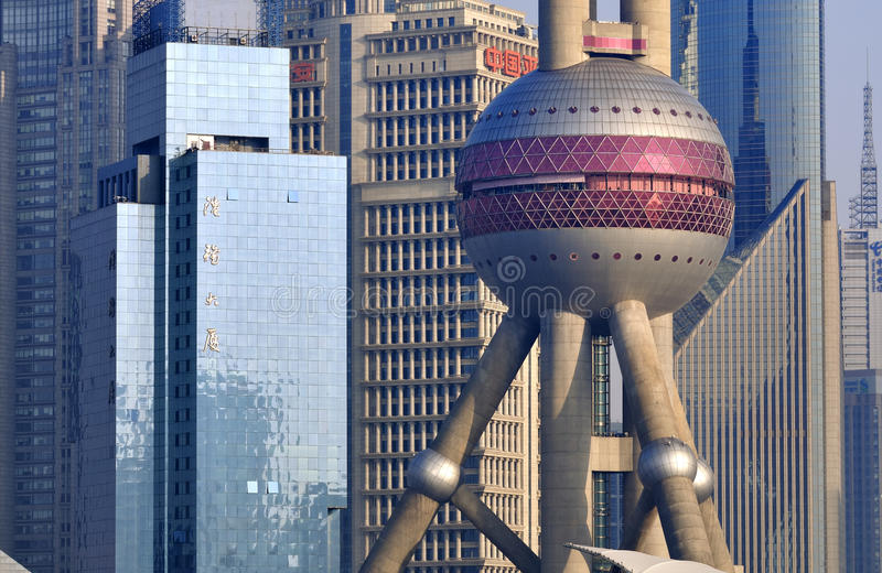 aerial shanghai stock photo  image of shanghai  financial