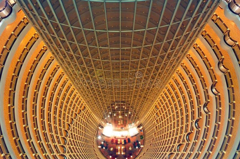 China, Shanghai: De toren van Jinmao royalty-vrije stock foto