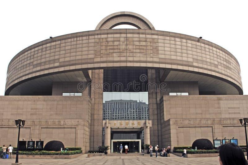 China, Shanghai: Museu de Shanghai fotografia de stock royalty free