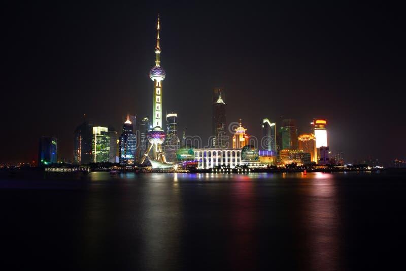 China Shanghai - opinião 1 da torre da pérola foto de stock