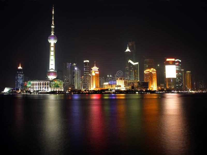 China Shanghai -Pearl tower- view 2 royalty free stock photos