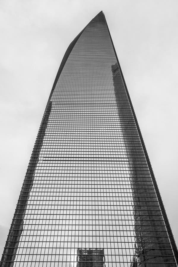 China, Shanghai, Shanghai World Financial Center. China, Shanghai skyscraper Shanghai World Financial Center stock images