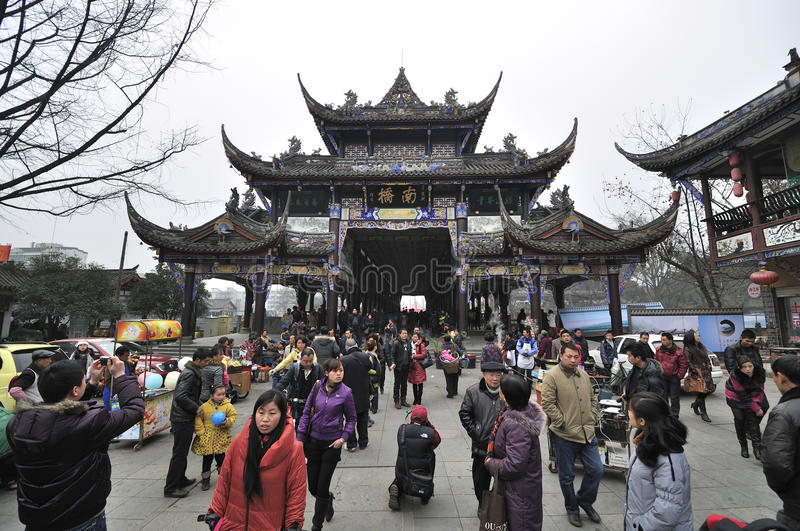 Download China Sichuan Village Dujiangyan New Year Editorial Photography - Image: 18323312