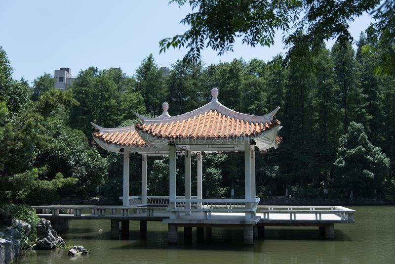 China soleada del verano de la arquitectura tradicional fotografía de archivo libre de regalías