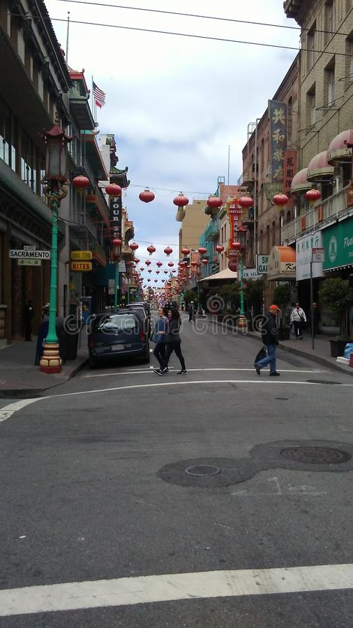 China-Stadt San Francisco stockfotos
