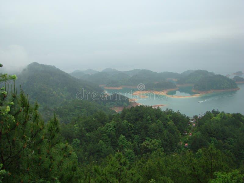 China HangZhou Thousands island lake stock images