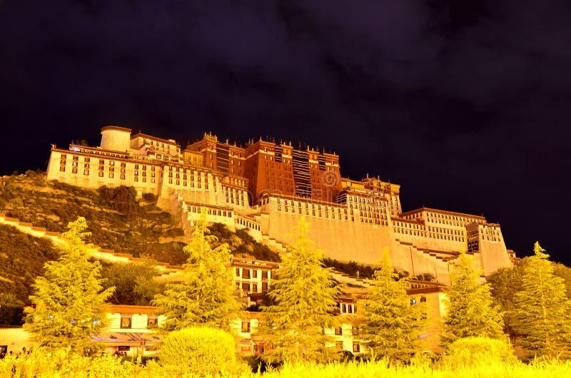 China Tíbet el palacio Potala foto de archivo