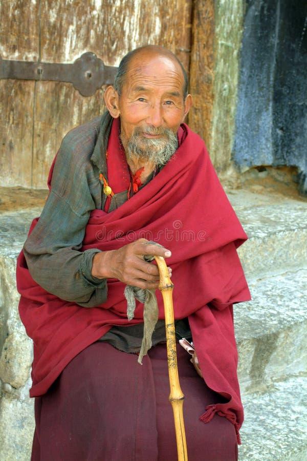 China, Tíbet, monje fotos de archivo libres de regalías