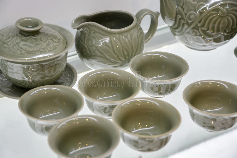 China tea ware stock photo