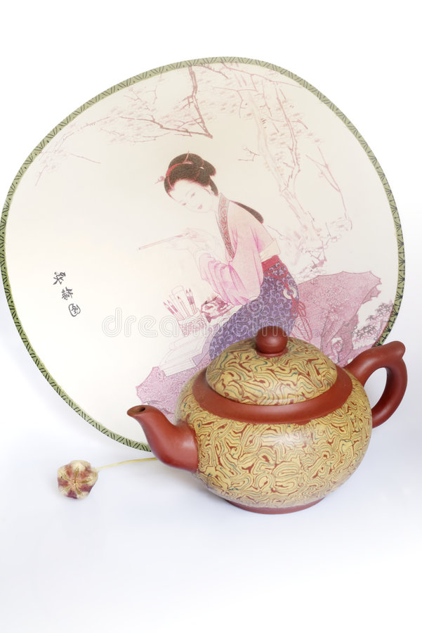 Free China Teapot Royalty Free Stock Photo - 3130975