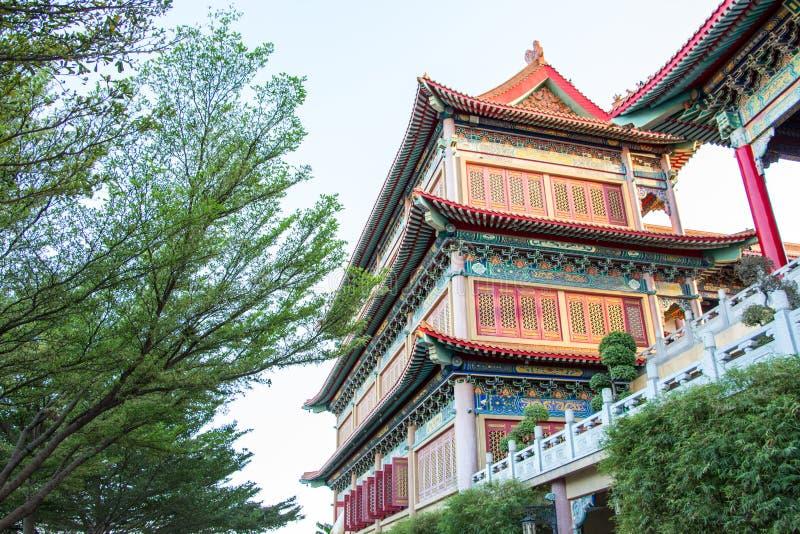 China-Tempel Thailand stockfotografie