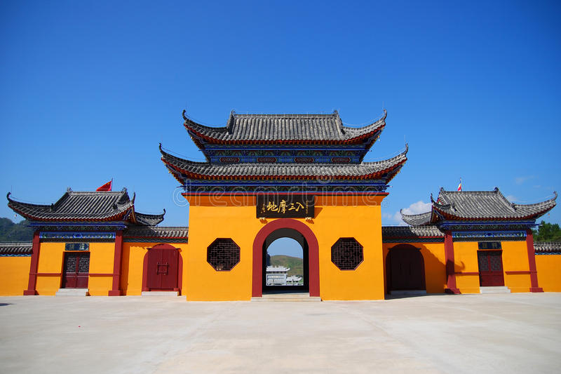 Download China temple stock image. Image of detail, solemn, black - 13355731