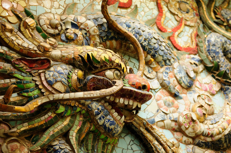 China temple in Vietnam stock photography