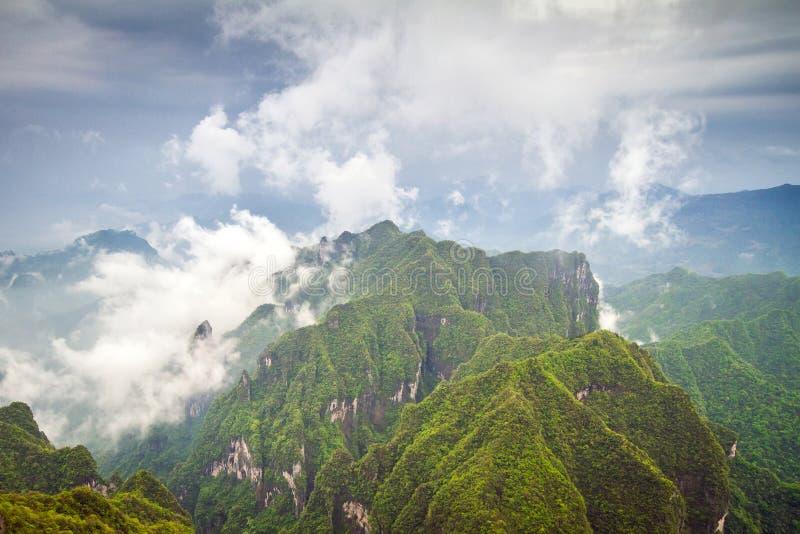 China Tianmen Shan Mountain foto de stock royalty free