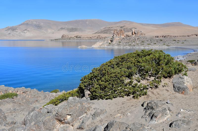 Tibet, holy lake Nam-Tso Nam Tso in summer, 4718 meters above sea level. Place of power. China. Tibet, holy lake Nam-Tso Nam Tso in summer, 4718 meters above sea stock images