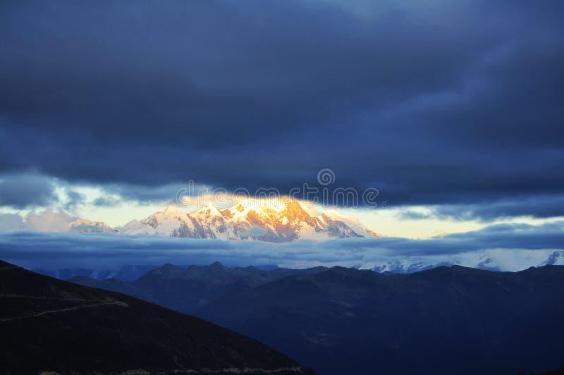 China Tibet Nyingchi Namjagbarwa stock image