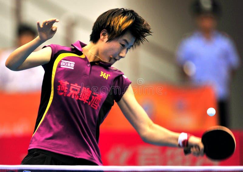 China-Tischtennis-Super League stockbilder