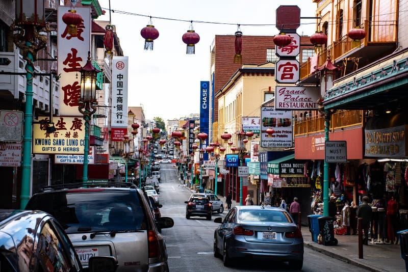 China Town stock photos