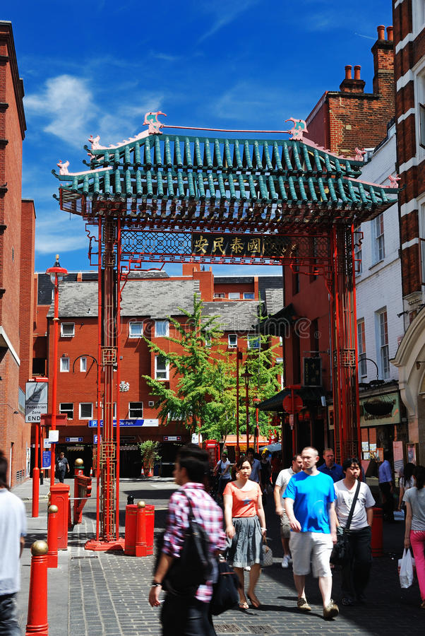 Download China Town in London editorial photography. Image of beautiful - 27190247