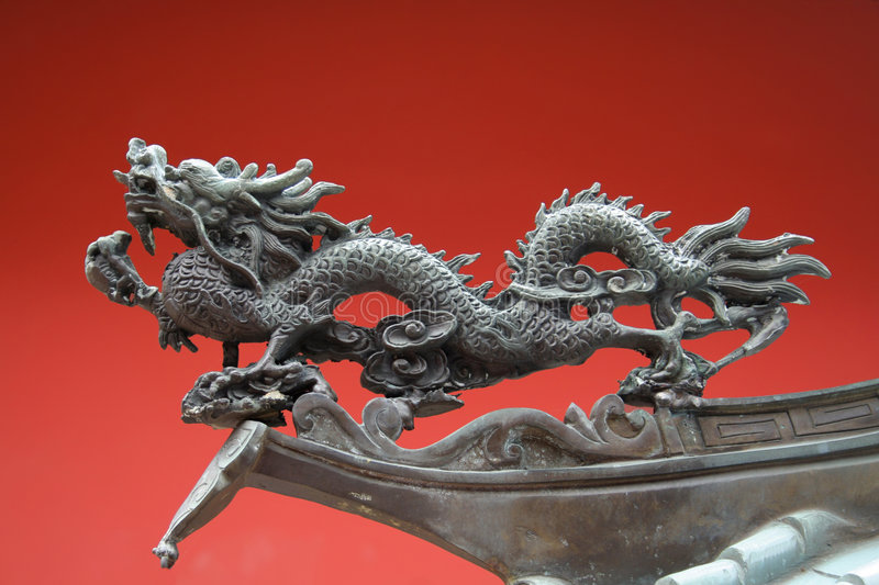 Download China Town Temple Dragon stock image. Image of decor, decoration - 4366599