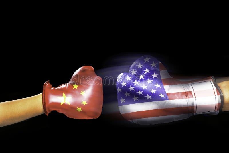 China und USA lizenzfreie stockfotos